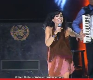 Rita at the United Nations